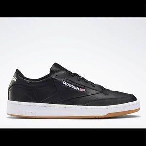 Black white Reebok club C 85 sneakers